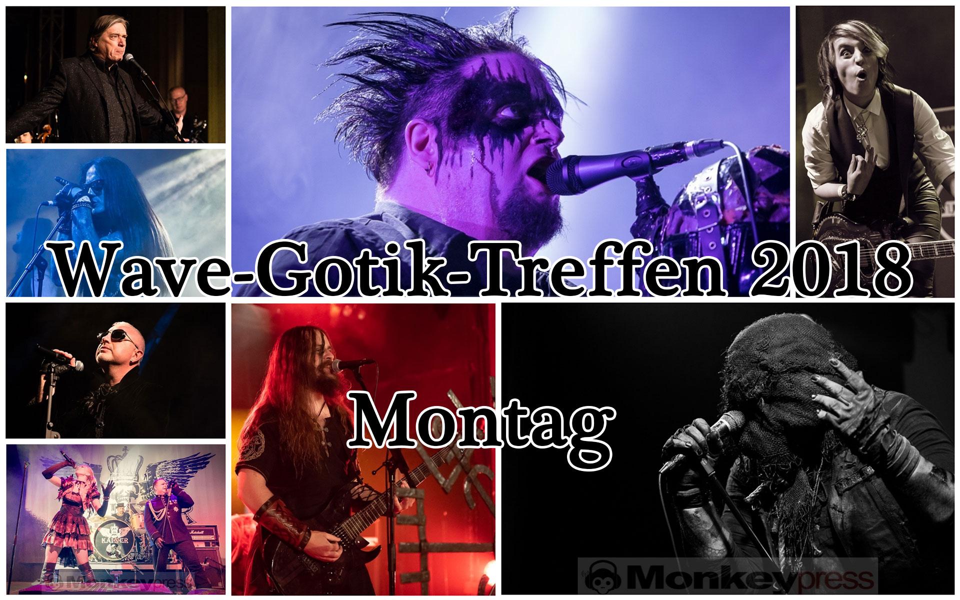 WAVE-GOTIK-TREFFEN (WGT) 2018 – Montag 21.05.2018
