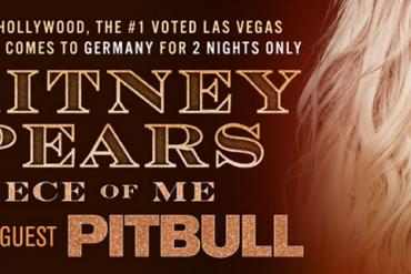 Im August kommt BRITNEY SPEARS auf Piece of Me Tour