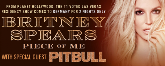 Im August kommt BRITNEY SPEARS auf Piece of Me Tour