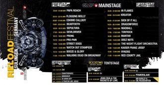 Reload Festival 2018 mit starkem Line-Up