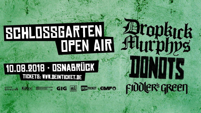 SCHLOSSGARTEN OPEN AIR 2018 in Osnabrück – 10.08.2018