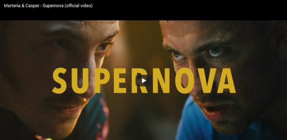 """MARTERIA & CASPER veröffentlichen neues Video """"Supernova"""" mit vielen Gästen"""