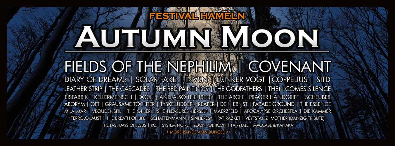 [Verlosung] Tickets für das AUTUMN MOON FESTIVAL 2018 in Hameln gewinnen