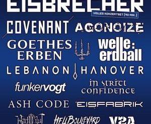 EISBRECHER, COVENANT und AGONOIZE sind Headliner des 22. DARK STORM FESTIVALS 2018