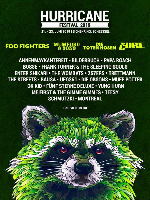 Das HURRICANE FESTIVAL 2019 gibt die ersten Bands bekannt, das SOUTHSIDE natürlich auch