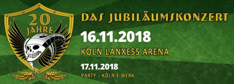 20 Jahre SCHANDMAUL: Jubiläumskonzert und Party