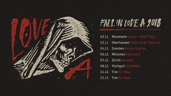 Fall in LOVE A 2018 Tour