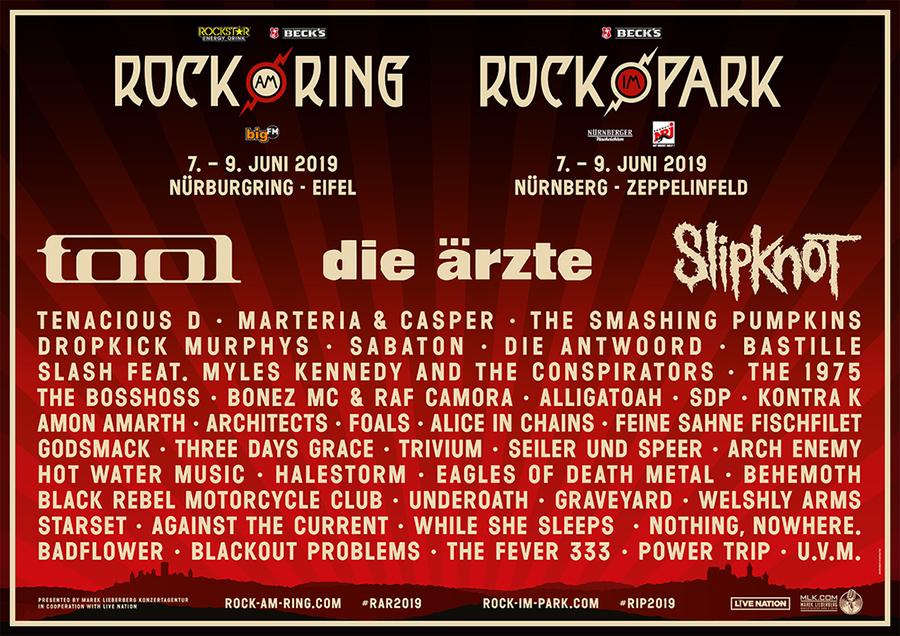 THE SMASHING PUMPKINS bei Rock am Ring/Rock im Park 2019