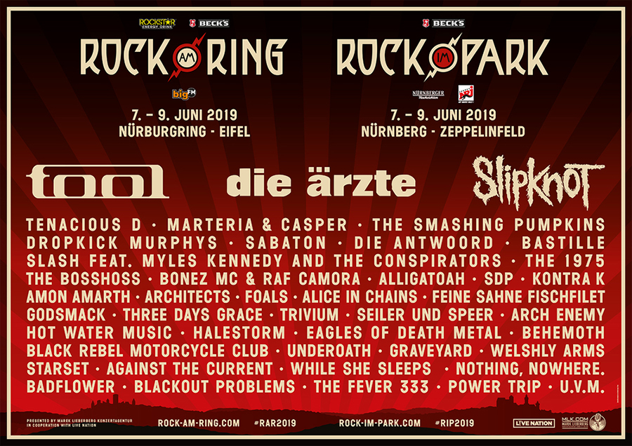 THE SMASHING PUMPKINS bei Rock am Ring/Rock im Park 2019