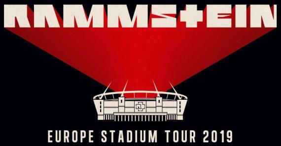 RAMMSTEIN - Europa Stadion Tour 2019