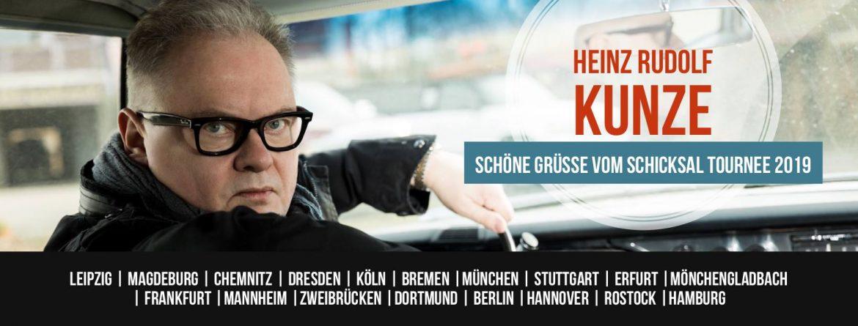 HEINZ RUDOLF KUNZE auf großer Deutschland Tour