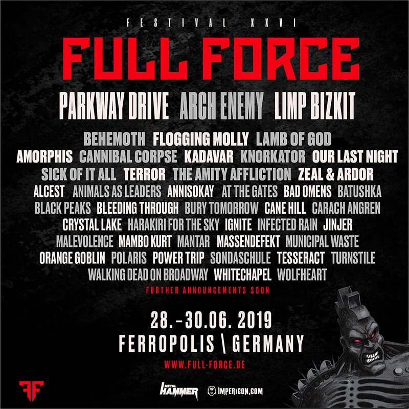 UPDATE - Festival Info: FULL FORCE 2019 - alle News, Infos und Bands hier!