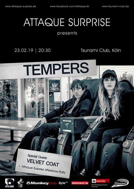 [beendet] Verlosung: Monkeypress.de präsentiert: TEMPERS & VELVET COAT