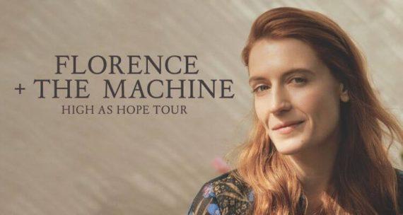FLORENCE + THE MACHINE kommt im März mit neuem Album auf Tour