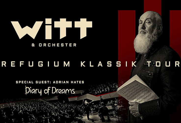 JOACHIM WITT geht mit Orchester und ADRIAN HATES auf Klassik-Tournee