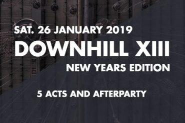 DOWNHILL Festival geht zu Jahresbeginn in die 13. Runde