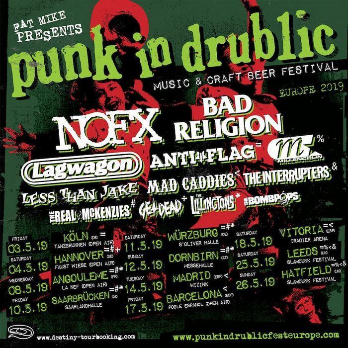 Im Mai 2019 geht das PUNK IN DRUBLIC Festival in die nächste Runde