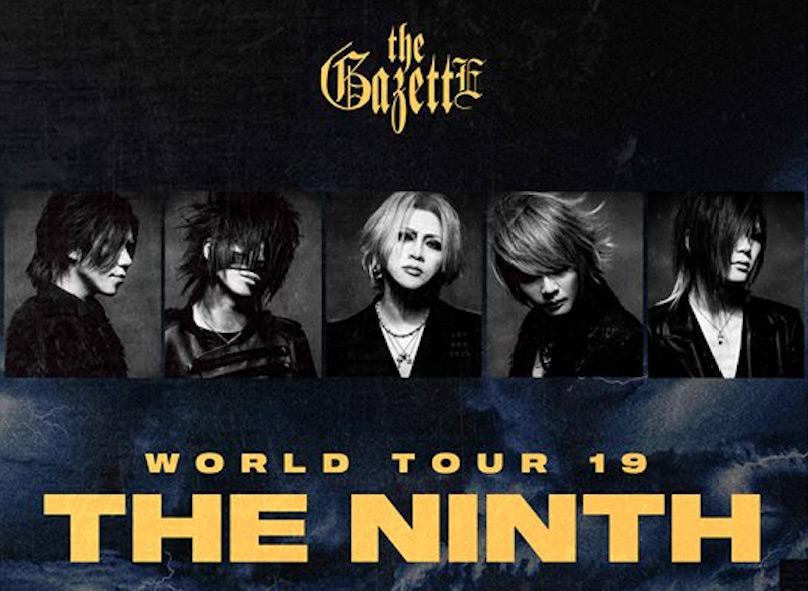 THE GAZETTE auf Ninth-Tour 2019