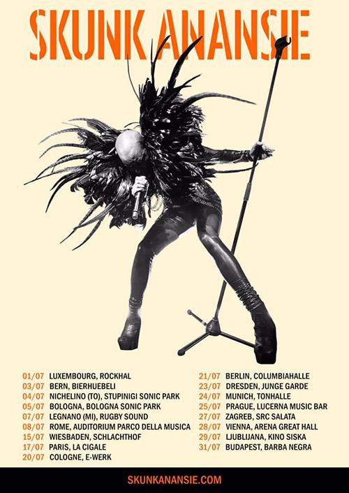 """SKUNK ANANSIE mit der Veröffentlichung des Live-Albums """"25LIVE@25"""" auf Tour!"""
