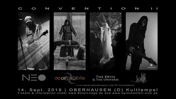 Post Goth at its best - SOLAR LODGE CONVENTION geht in die zweite Runde