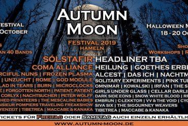AUTUMN MOON 2019 - Märchenhaftes Line-up zum 5. Geburtstag
