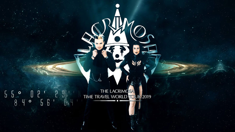 LACRIMOSA auf Time Travel World Tour 2019
