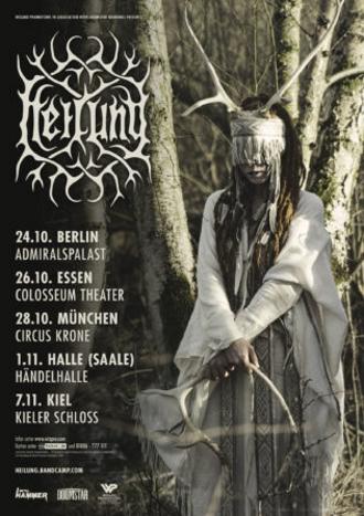 Erste Headliner-Tournee der Pagan-Folk-Band HEILUNG im Herbst 2019