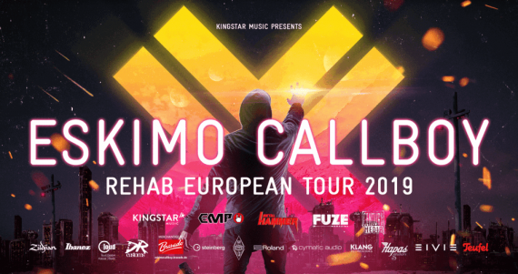 "ESKIMO CALLBOY mit neuem Album auf großer Tour - Single ""Hurricane"" out now!"