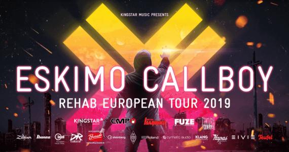 """ESKIMO CALLBOY mit neuem Album auf großer Tour - Single """"Hurricane"""" out now!"""