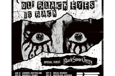 Auf Tour: ALICE COOPER - Ol' Black Eyes is Back-Tour - Special Guest: BLACK STONE CHERRY