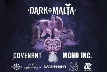 Dark Malta Festival 2020 mit COVENANT und MONO INC. als Headliner