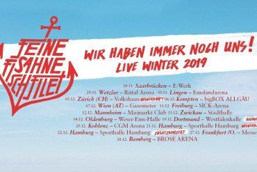 Wir haben immer noch uns! - Der Winter mit FEINE SAHNE FISCHFILET