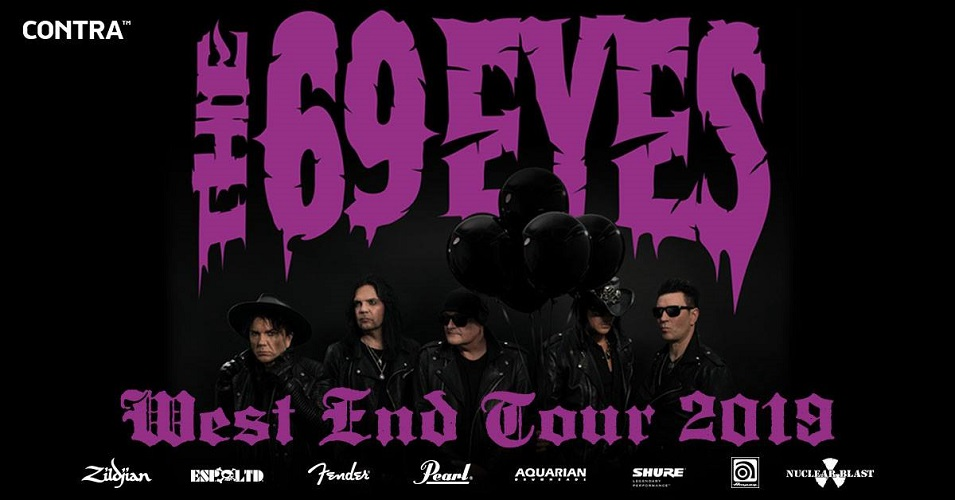 THE 69 EYES auf West End Tour 2019