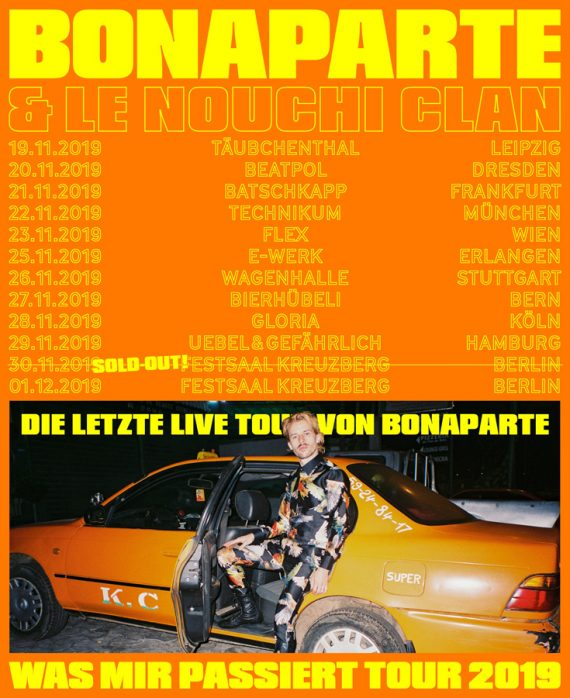 Was mir passiert - BONAPARTE on Tour