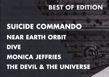 DOWNHILL XIV bietet mit SUICIDE COMMANDO, DIVE, NEAR EARTH ORBIT, THE DEVIL & THE UNIVERSE und MONICA JEFFRIES ordentlich auf