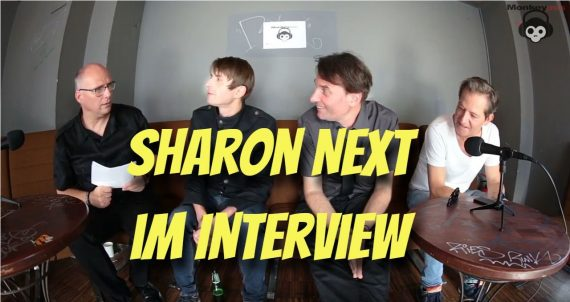 Im Interview: SHARON NEXT: Wir sind wohl eine elektronische Form von Joy Division