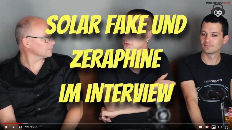 Im Interview: SOLAR FAKE & ZERAPHINE