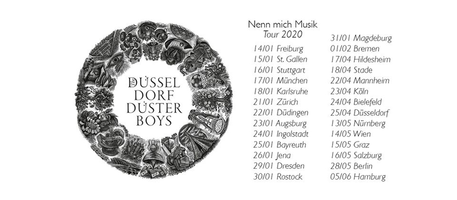 The Düsseldorf Düsterboys on Tour