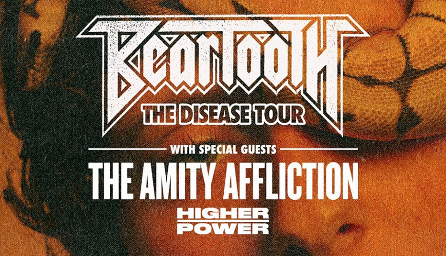 Beartooth rocken Deutschland mit The Amity Affliction und Higher Power