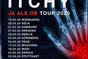 """ITCHY auf """"Ja Als Ob"""" – Tour 2020"""