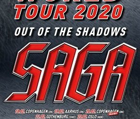 "SAGA live auf ""Out Of The Shadows Tour"""