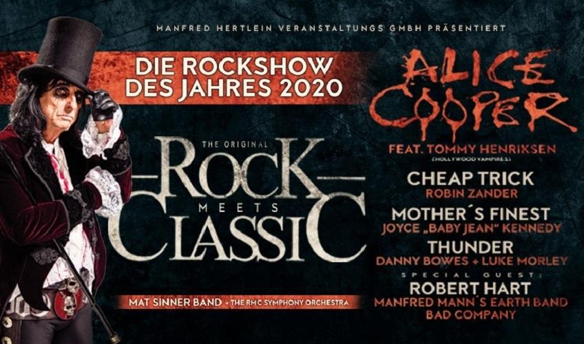 ROCK MEETS CLASSIC - die Rockshow des Jahres auch dieses Jahr!