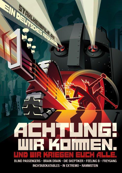 """""""ACHTUNG! WIR KOMMEN."""" - RAMMSTEIN und mehr"""