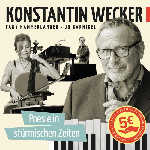 KONSTANTIN WECKER: neue CD und Spendenaktion