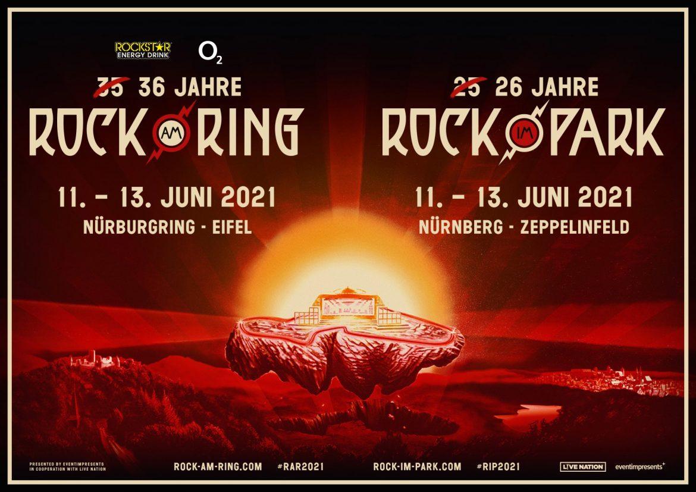 ROCK AM RING und ROCK IM PARK 2021 - Umtausch der diesjährigen Tickets