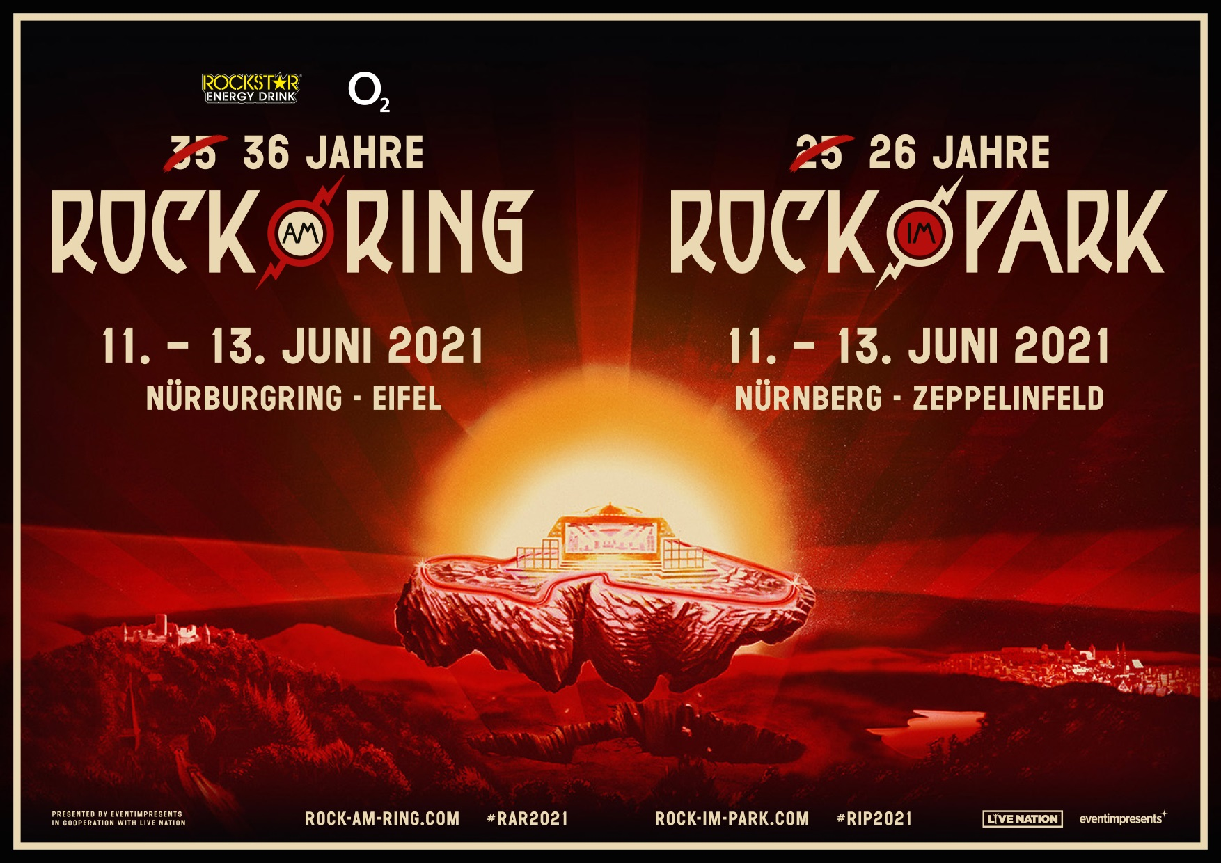 Rock Am Ring Live Im Tv 2021