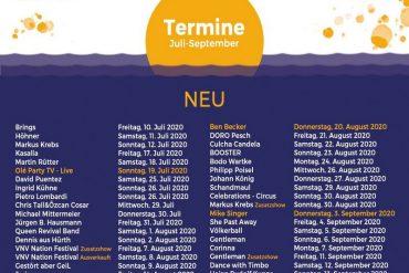 Strandkorb-Konzerte in Mönchengladbach mit u.a. VNV NATION und SCHANDMAUL