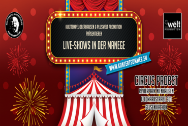 Was für ein Zirkus: DE/VISION, CLAN OF XYMOX und viele mehr in Gelsenkirchen