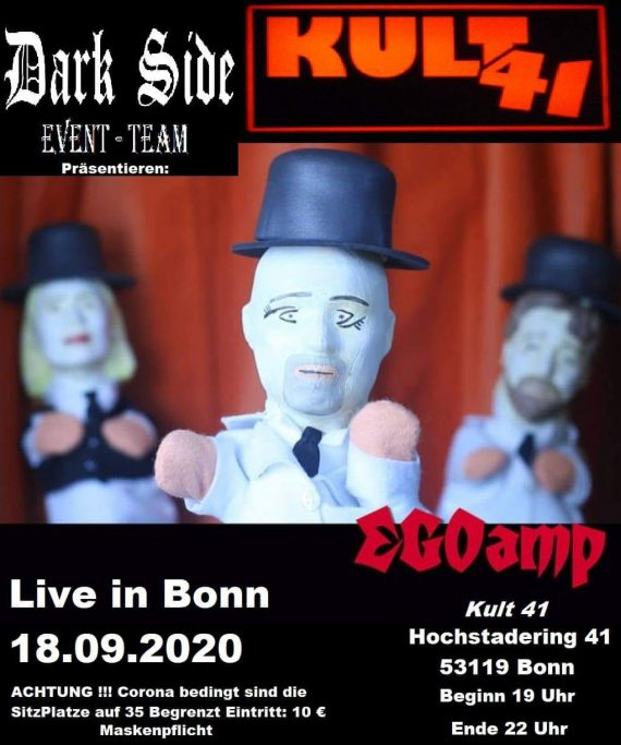 EGOamp live im Kult41 Bonn