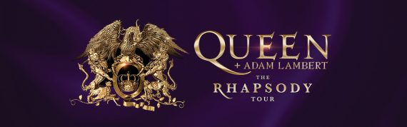 QUEEN AND ADAM LAMBERT - The Rhapsody Tour 2021